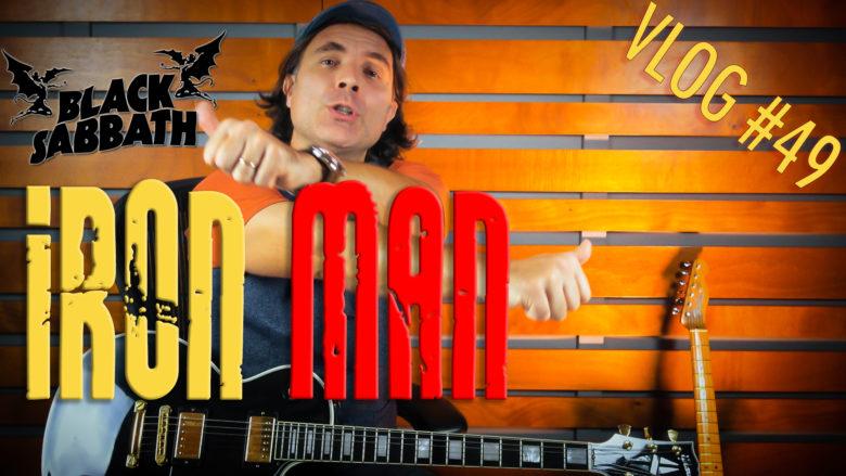 Iron Man tutorial lezione per chitarra