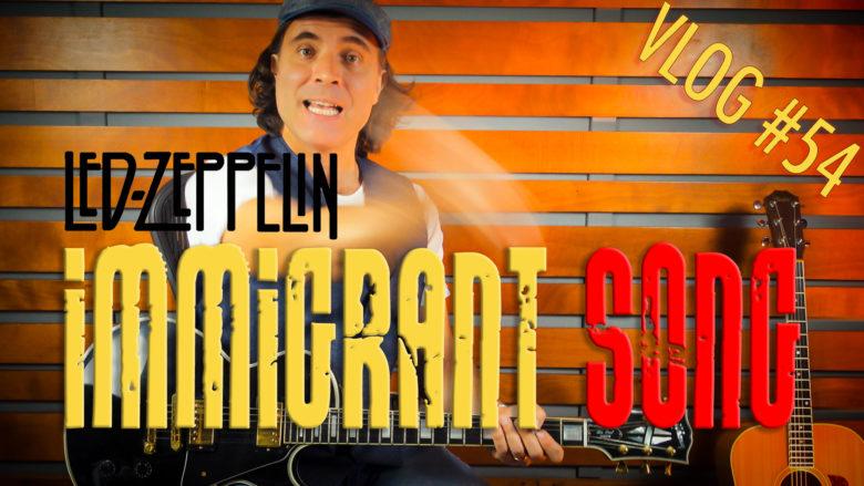 Immigrant Song Lezione Chitarra