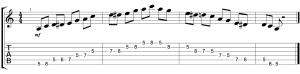 Scala Blues LA Corso di Chitarra Blues