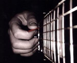 Chitarra plettro o dita