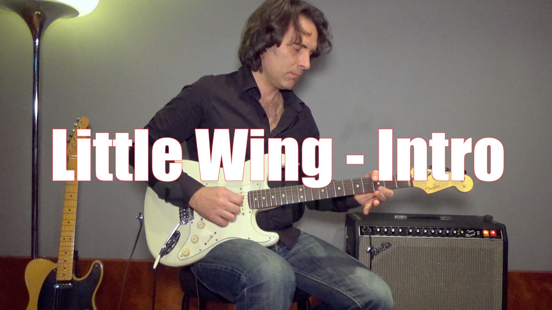 Suonare Little Wing di Jimi Hendrix