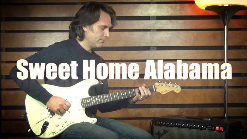 Sweet Home Alabama Tutorial Chitarra