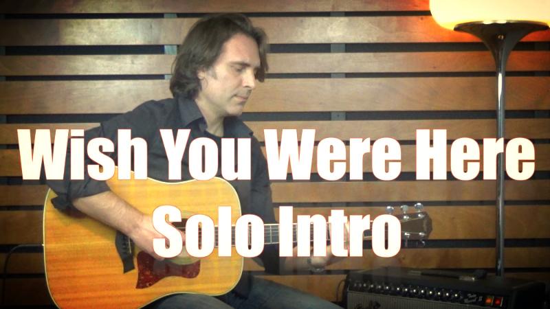 Wish You Were Here Solo Intro