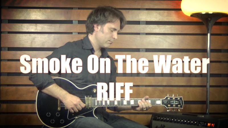 smoke on the water tutorial lezione chitarra