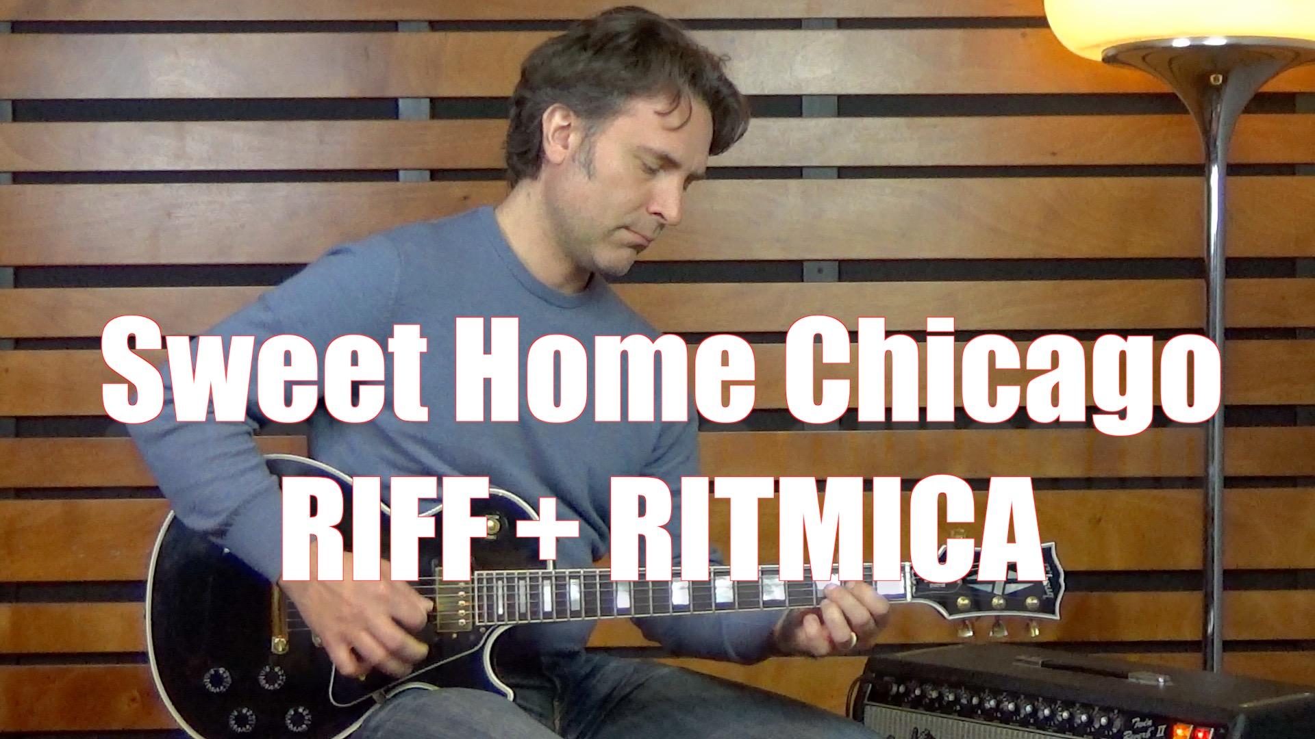 Sweet Home Chicago Accordi Riff