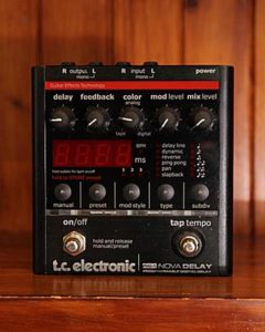 Tutorial Delay Digitale Tc Electronic Nova Delay