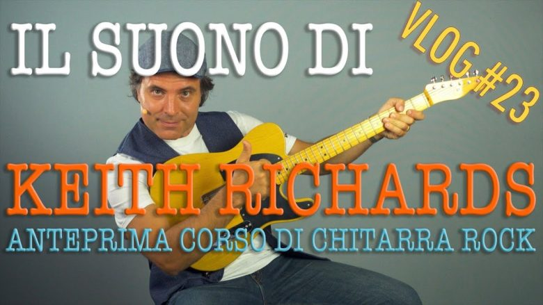 La chitarra di Keith Richards