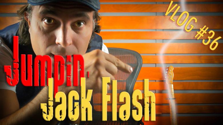 Jumpin Jack Flash Rolling Stones riff tabs