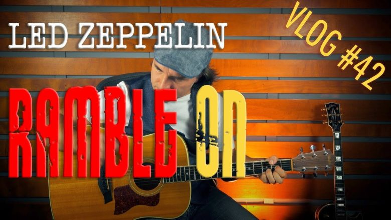 Led Zeppelin Ramble On tutorial chitarra
