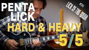 Lick per chitarra rock