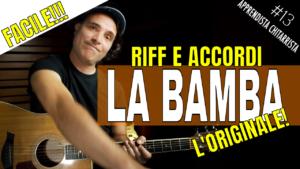 La Bamba Accordi e Riff per chitarra