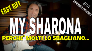My Sharona Tutorial Chitarra
