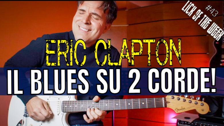Eric Clapton Tutorial Blues