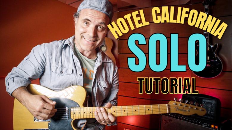 Hotel California Tutorial Assolo di Chitarra